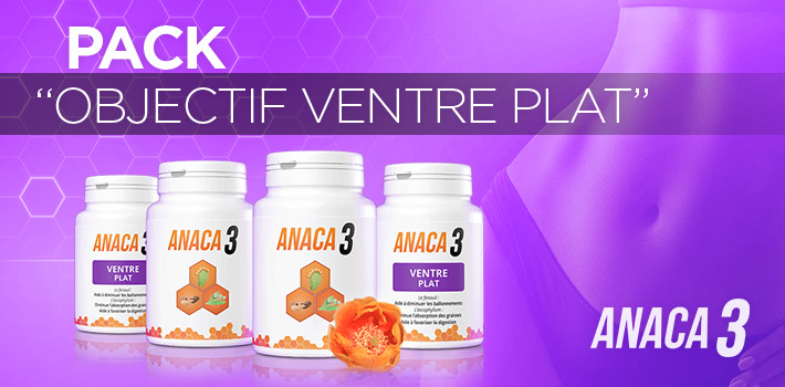 Pack Anaca3 Objectif Ventre Plat