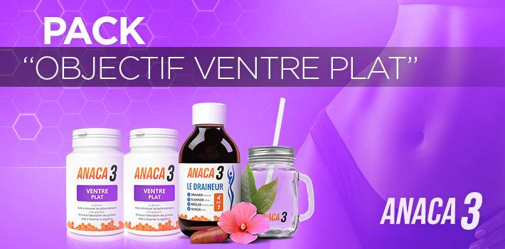 Pack objectif ventre plat : plus qu'une possibilité avec Anaca3