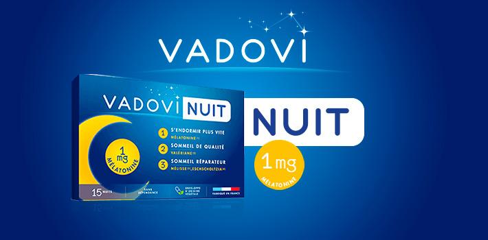 Vadovi Nuit améliore la qualité de votre sommeil
