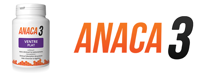 Ballonnements- Anaca3 ventre plat une solution?