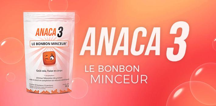 Bonbon minceur Anaca3 : fait-il mincir ?