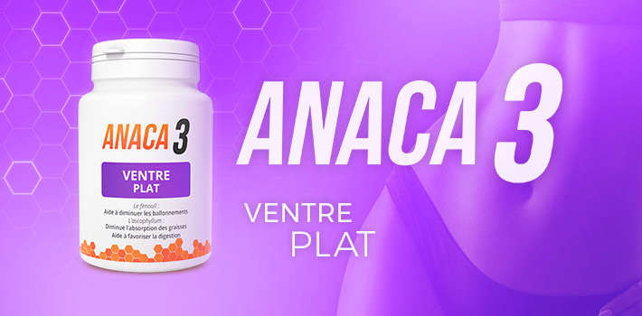 Ballonnements : Anaca3 ventre plat une solution ?
