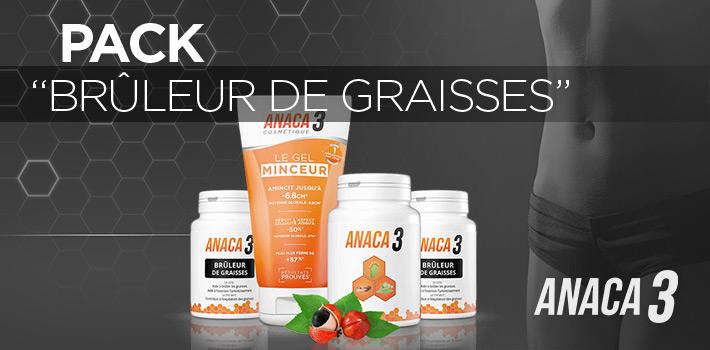 Pack Brûleur de Graisses Anaca3