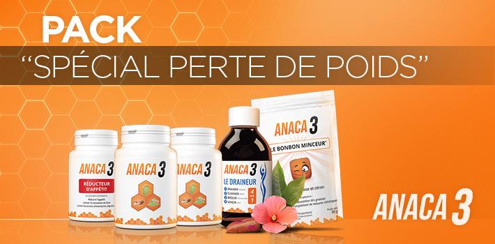 Pack Anaca3 Spécial Perte de Poids