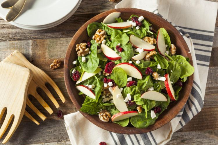Manger de la salade le soir pour maigrir