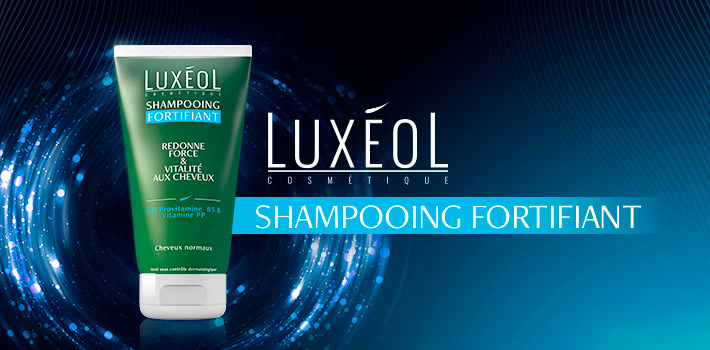 Luxéol shampooing fortifiant : composition